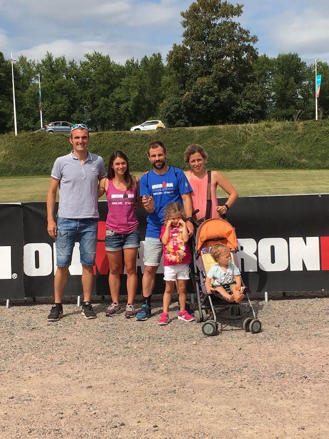 Miki Barrero medalla triatlón Vichy slot Ironman Kona Hawaii