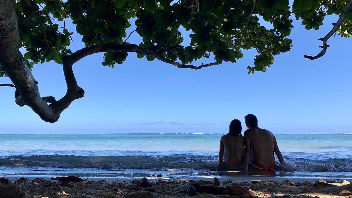 Ainini Beach Kauai Hawaii