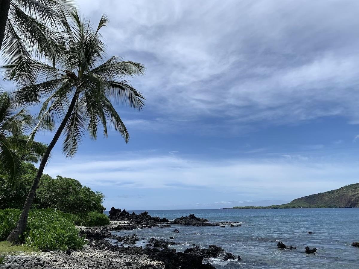 playa hawaii capitan cook kona triatlón