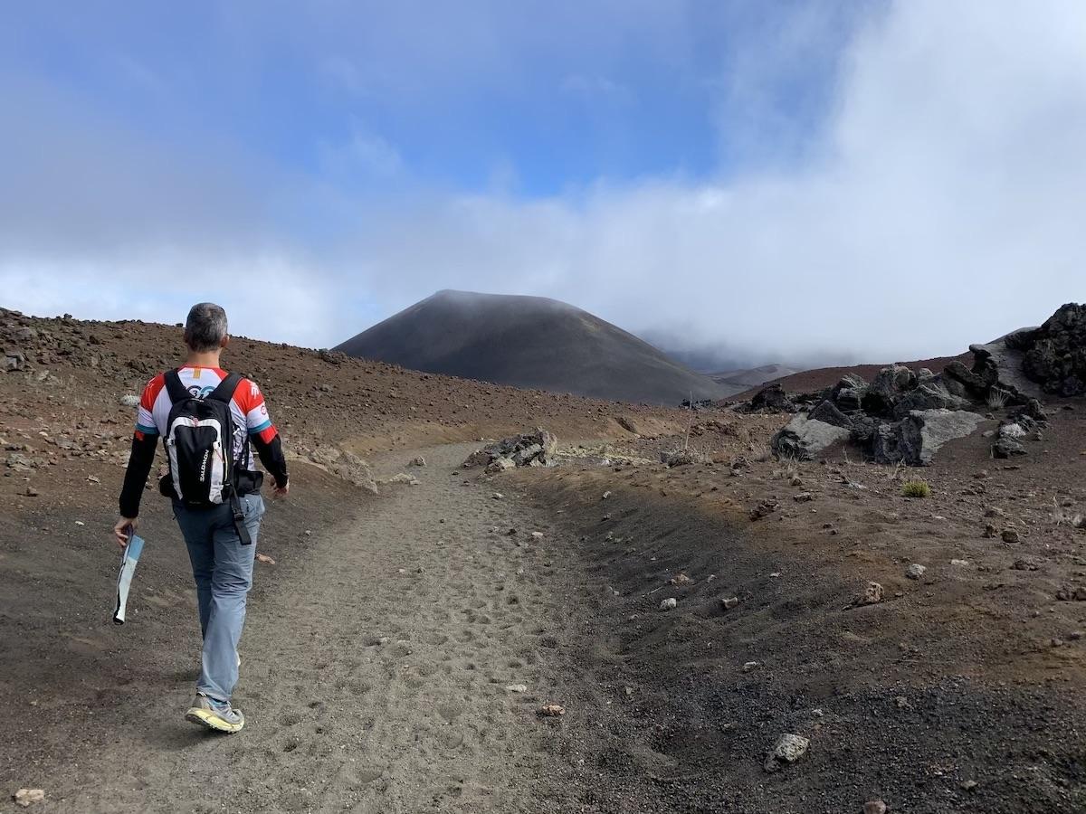 haleakala trail maui hawaii
