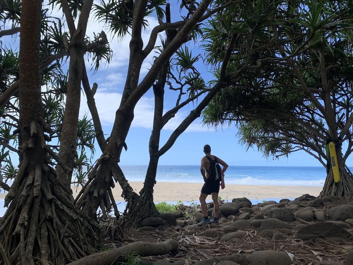 kalalau trail kee beach kauai hawaii
