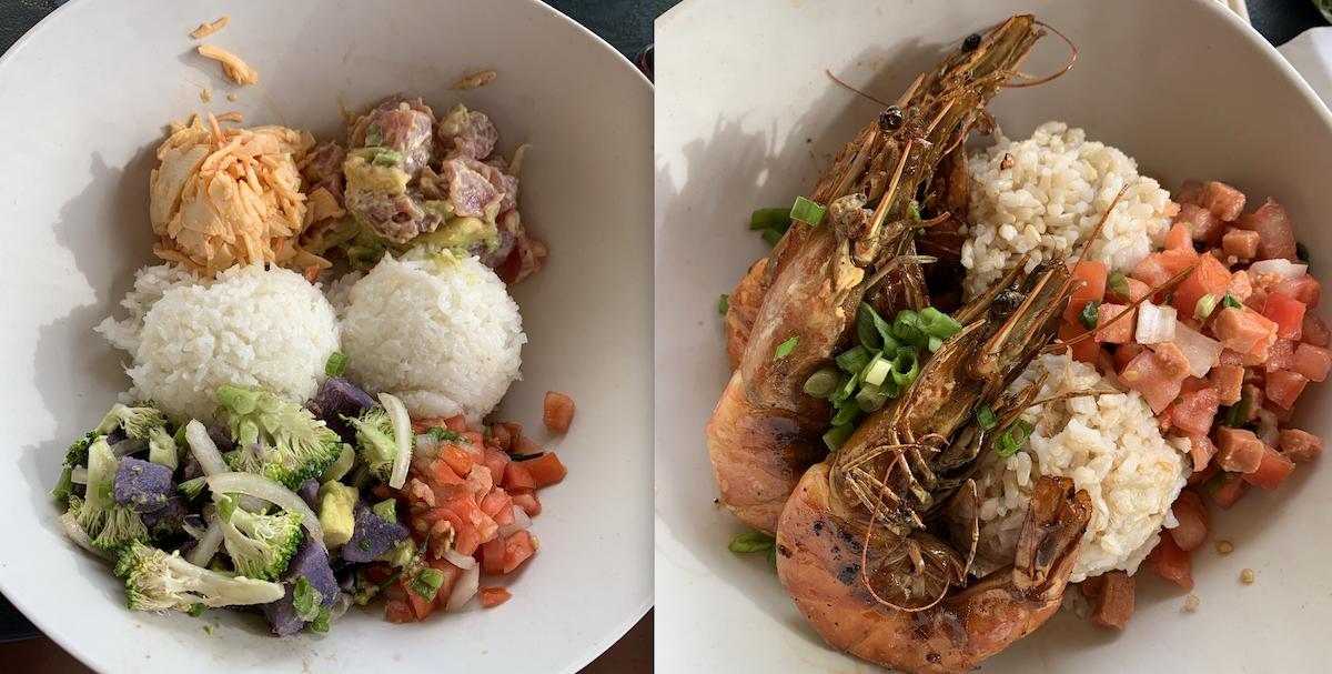 food kona hawaii pre triatlón